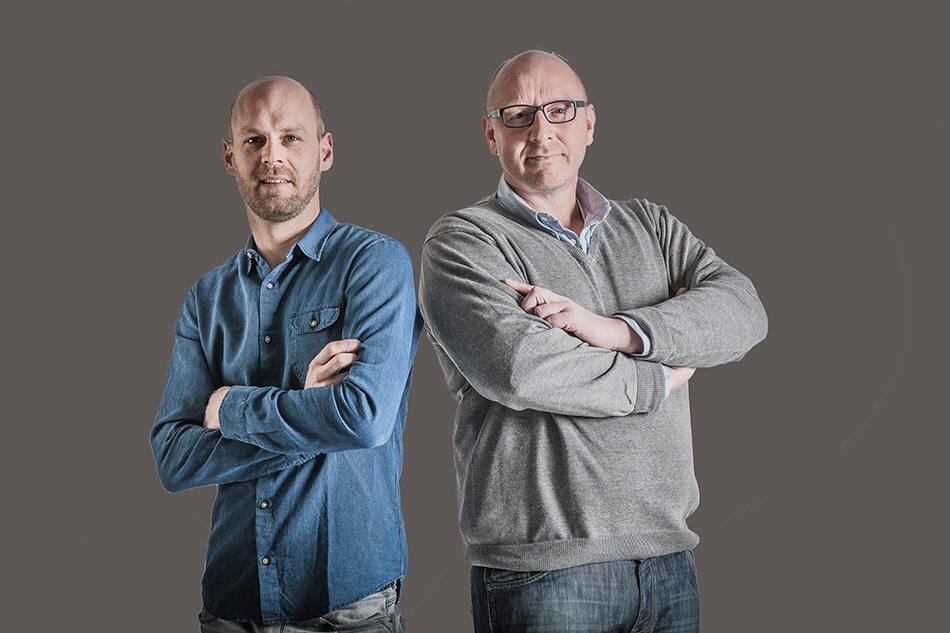 Manuel Brinker und Frank Veelers